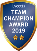 Team Champion Award 2019